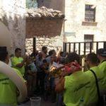 Pueblos en Fiestas Encierro y toro embolado como despedida en Mirambel.