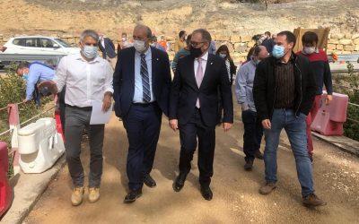Las diputaciones de Teruel y Castellón sellan su compromiso de colaboración en infraestructuras compartidas.